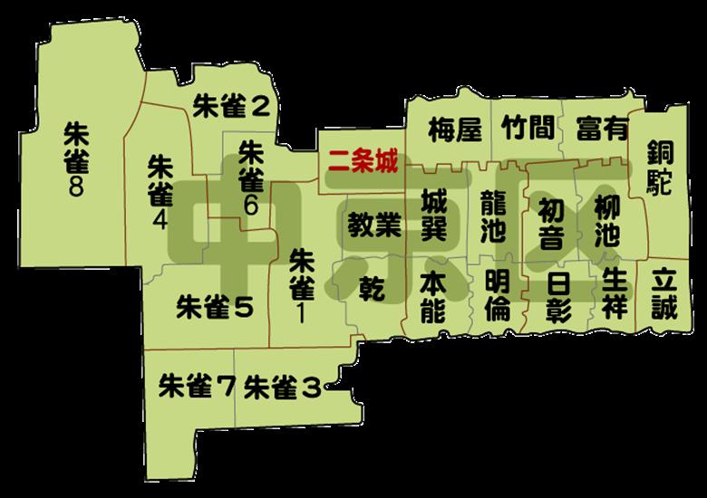 京都市中京区の画像