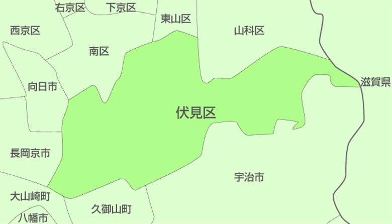 京都市伏見区の画像