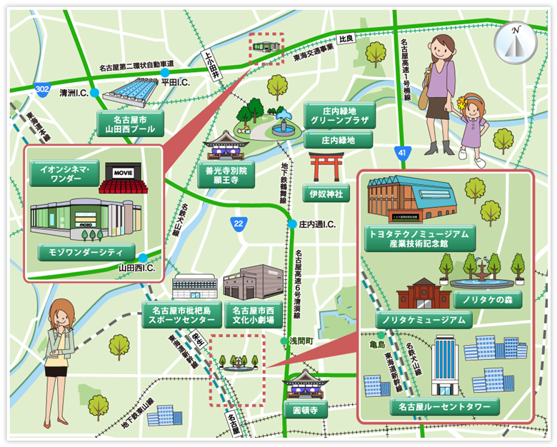 名古屋市西区の画像