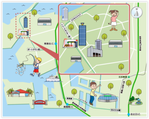 大阪市住之江区の画像