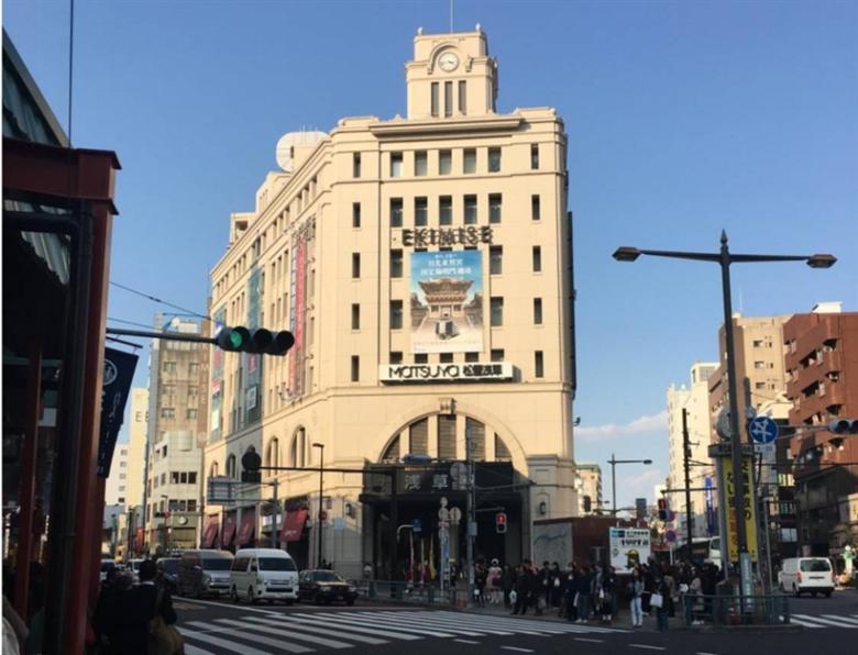 浅草駅の画像