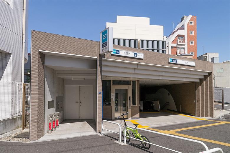 北参道駅の画像
