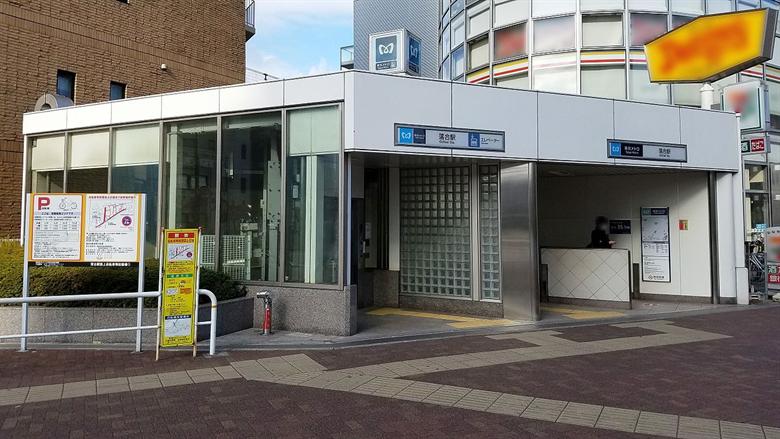 落合駅の画像
