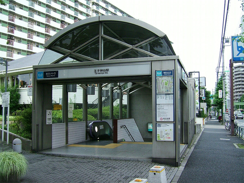王子神谷駅の画像