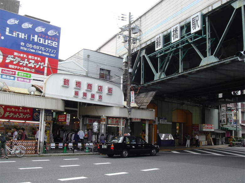 鶴橋駅の画像