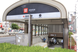 西田辺駅の画像