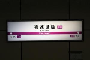 喜連瓜破駅の画像